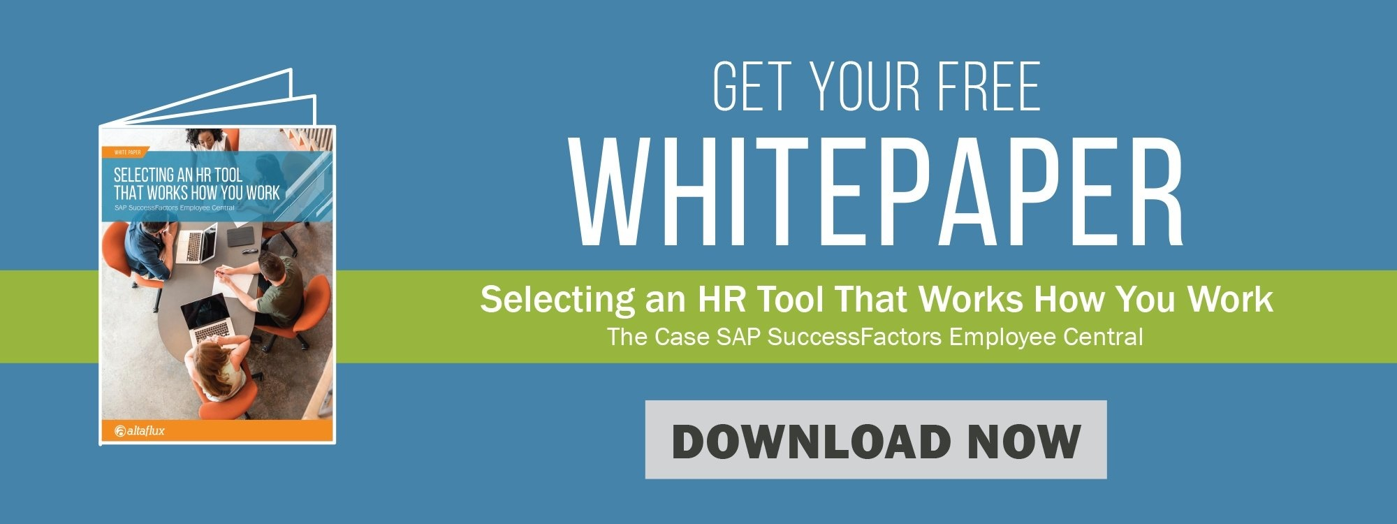 AltaFlux Whitepaper Selecting an HR Tool That Works How You Work