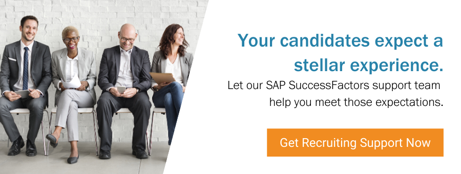 SAP SuccessFactors Support Recruiting