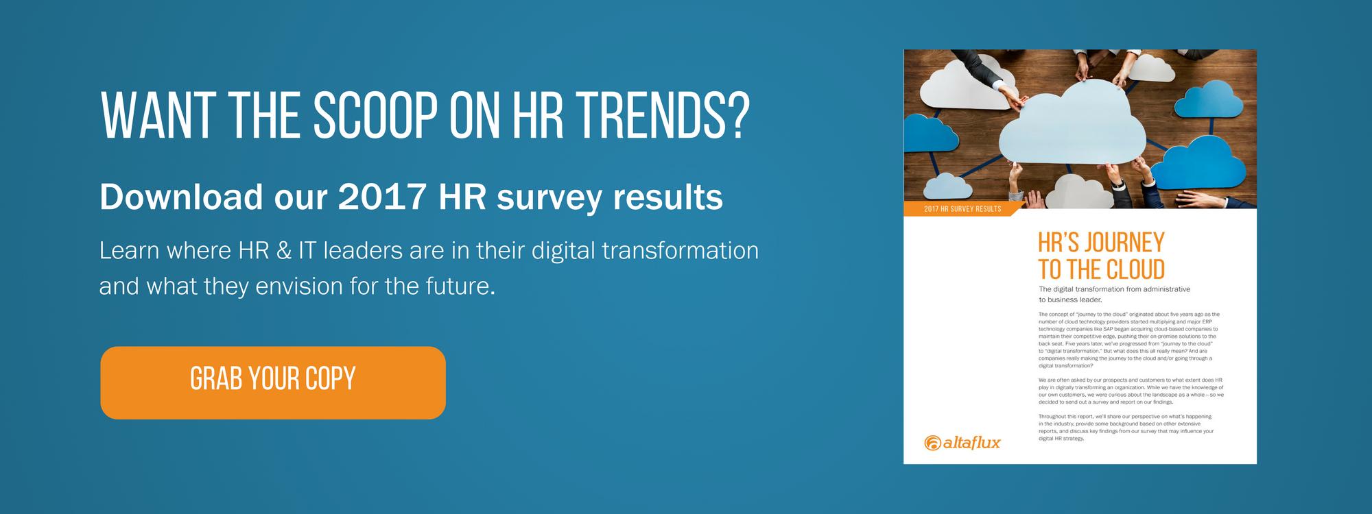 2017 HR Transformation Survey