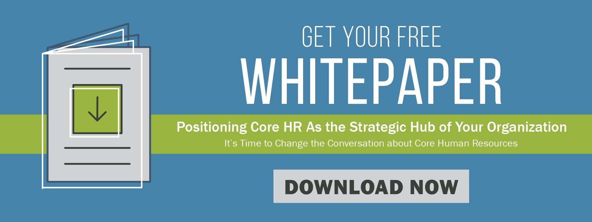 Positioning Core HR as the Strategic Hub