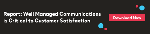 Banner to download Report about managing communications for customer satisfaction