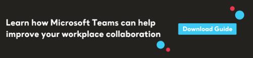 Microsoft Teams ToFu CTA