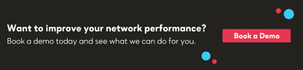 banner to book a demo with IR and improve network performance