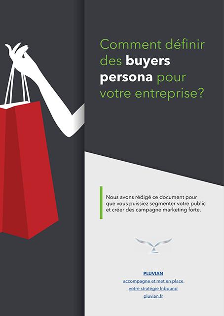 Définir des buyers persona pour votre entreprise, couverture livre blanc