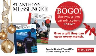 Give St Anthony Messenger magazine for a gift