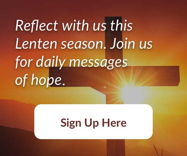 Sign up for Lent 2018