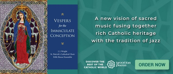 A new book from Ignatius Press  - Vespers for the Immaculate Conception