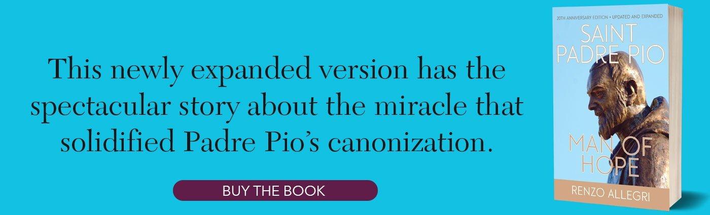 Saint Padre Pio Blog Footer