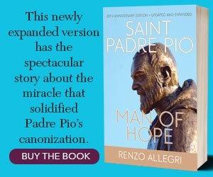Saint Padre Pio Sidebar