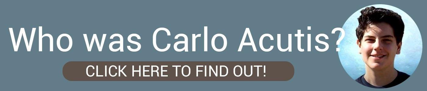 Who was Carlo Acutis?