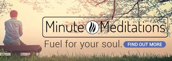 Minute Meditations CTA email
