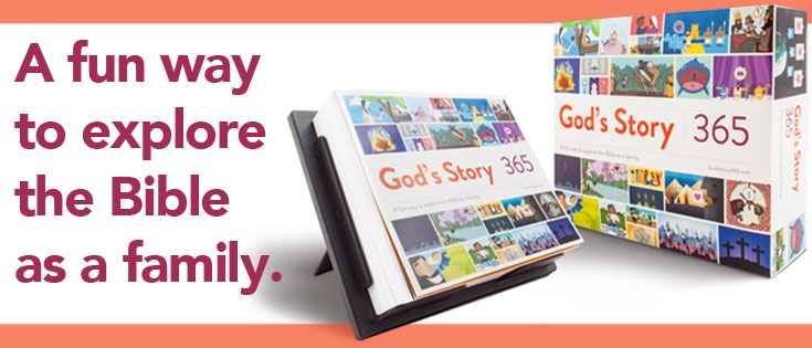 God's Story 365: A fun way to explore the Bible as a family!