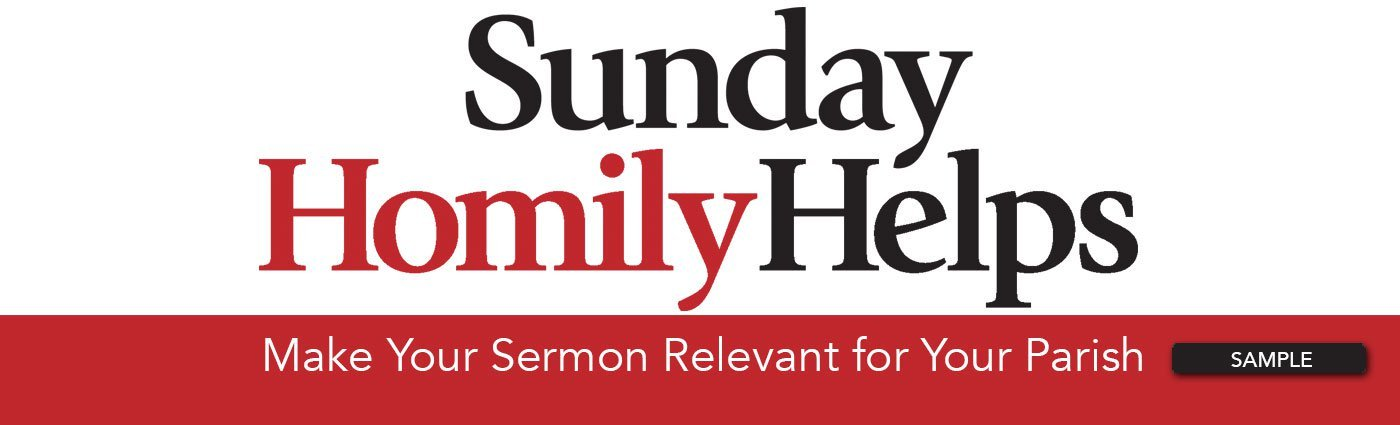 Sunday Homily Helps for Blog