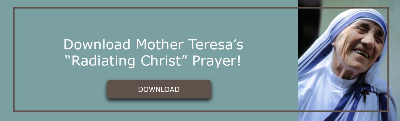 Download mother teresa radiating christ prayer