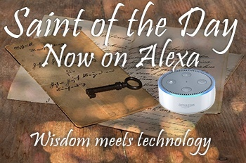 Saint of the Day for Echo devices featuring Alexa