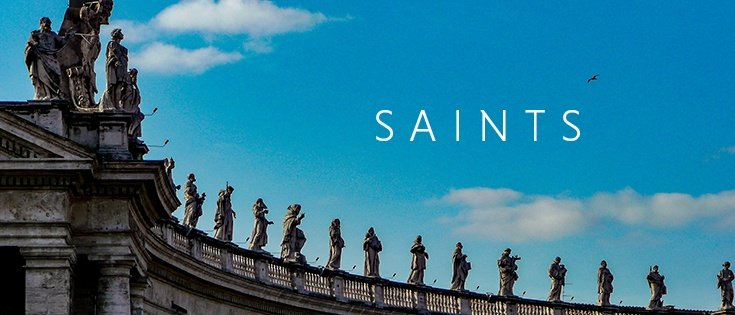 Saint books and audiobooks from Franciscan Media
