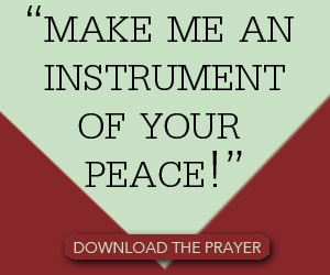 Download the Peace Prayer