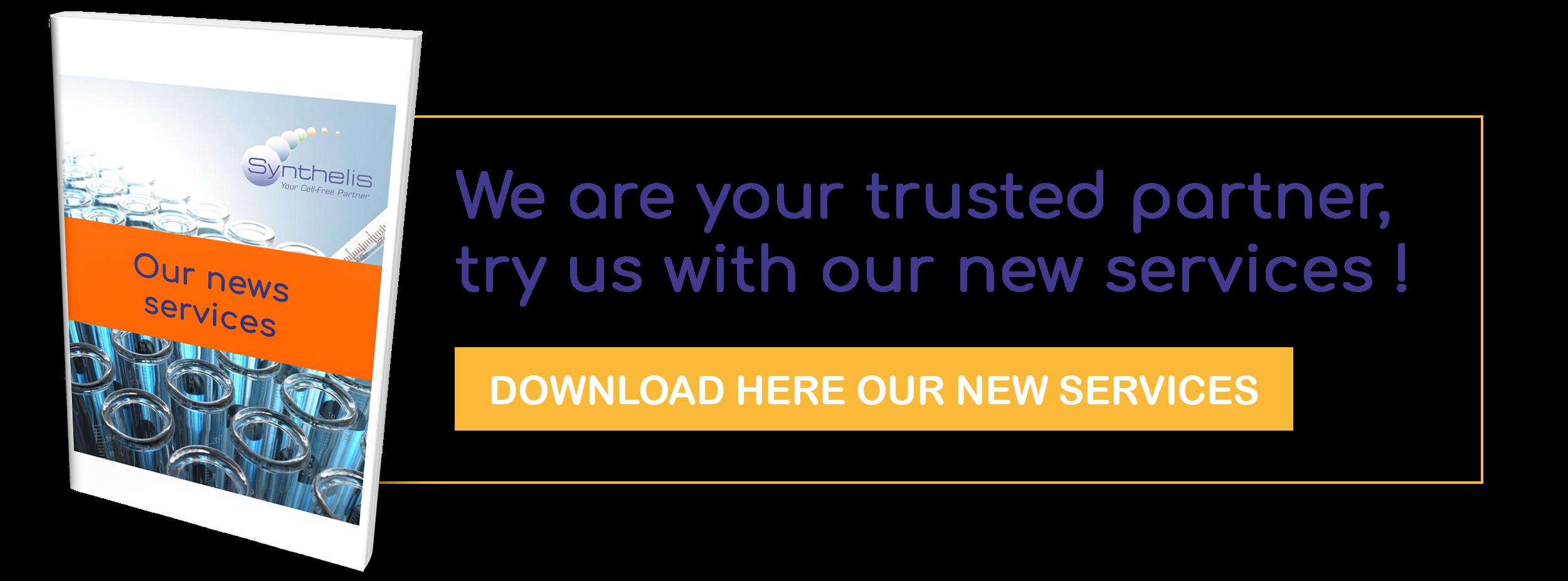 """Synthelis est votre partenaire de confiance, tester nous à travers notre offre """"Essentielle"""", rapide, qualitative et compétitive !"""