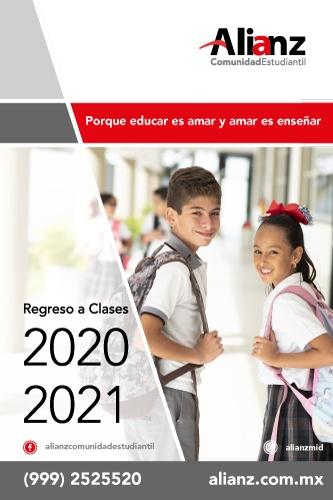 Folleto Regreso a Clases 2020 - 2021