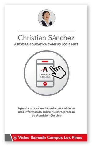 Agendar Video llamada Campus Los Pinos