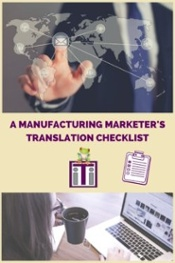 manufacturing translation services_checklist