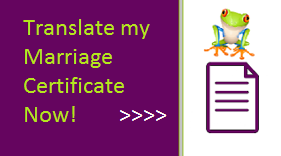 button for marriage certificate translation