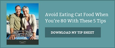 Avoid Eating Cat Food When You're 80 With These 5 Tips. Download My Free Tip Sheet