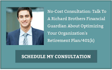 No-Cost Consultation: Talk To A Richard Brothers Financial Guardian About Optimizing Your Organization's Retirement Plan/ 401(k).