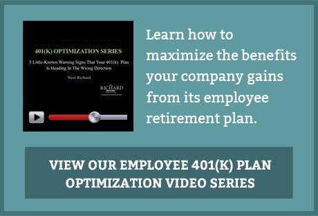 Learn how to maximize the benefits your company gains from its employee retirement plan. View our Employee 401(k) Plan Optimization Video Series