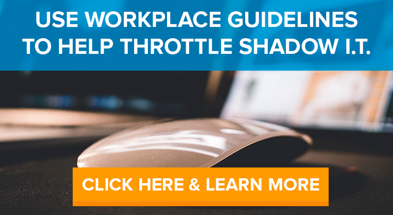 shadow it workplace guidelines