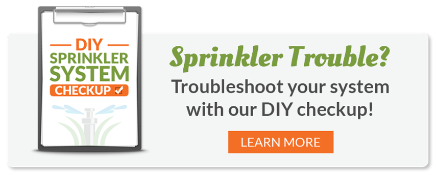 Sprinkler System Checkup for Homeowners