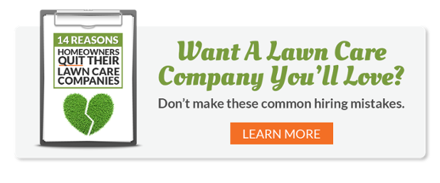 Lawn service companies vs lawn application companies for Lawn care companies