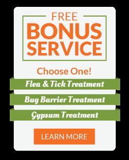 Free Bonus Lawn Care Service