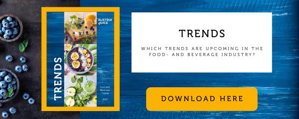 Trend report food beverage