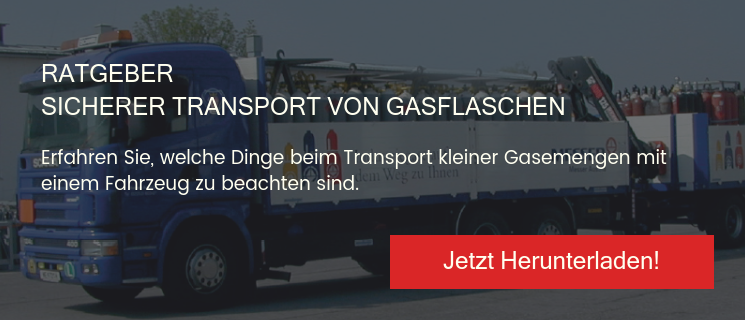 Ratgeber Sicherer Transport von Gasflaschen