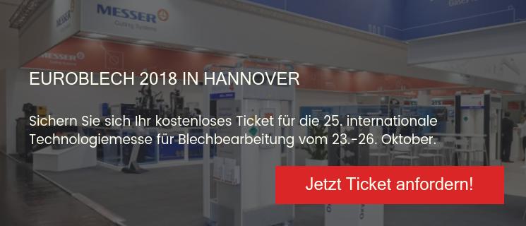 Ticket EuroBLECH 2018 Hannover