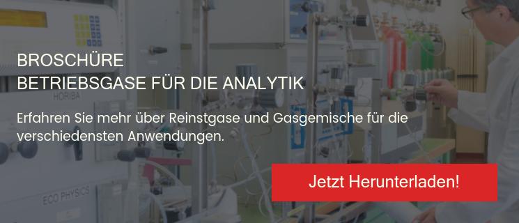 Broschüre Betriebsgase für die Analytik