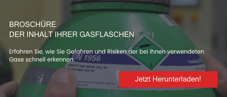 Broschüre der Inhalt Ihrer Gasflaschen