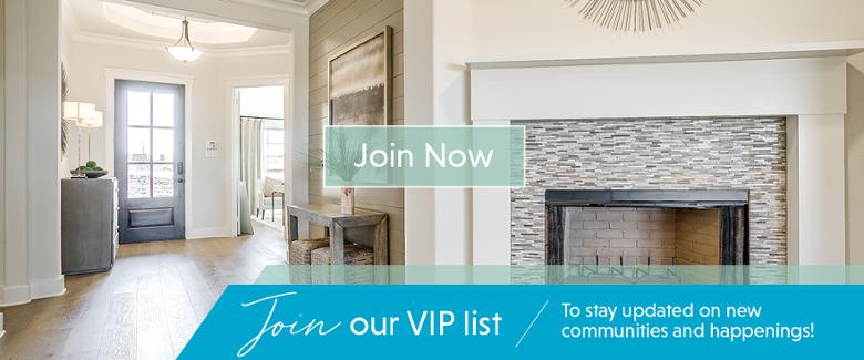 John Houston Homes VIP List new communities updates