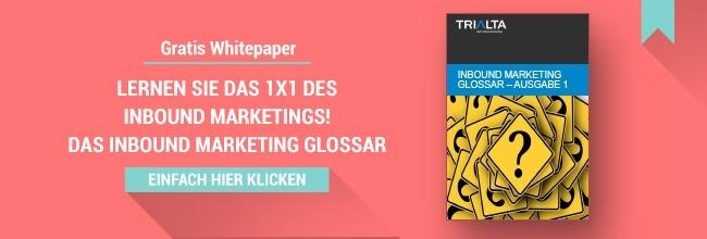 Inbound Marketing Glossar