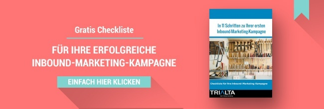 Checkliste Inbound Marketing Kampagne