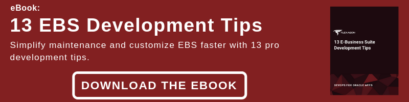 Improve EBS development with these pro tips.