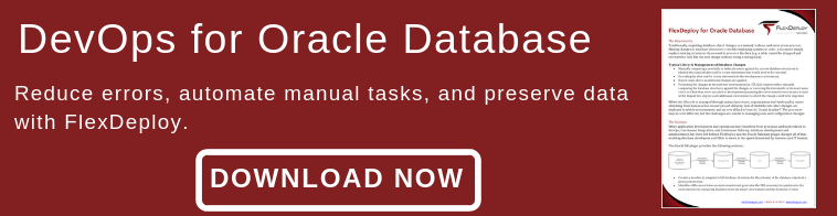 Download FlexDeploy for Oracle database.