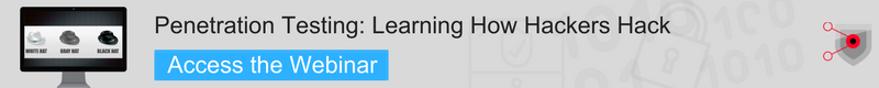 Webinar Learning How Hackers Hack