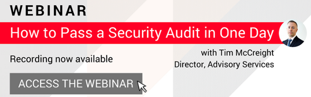 How to Pass a Security Audit in One Day