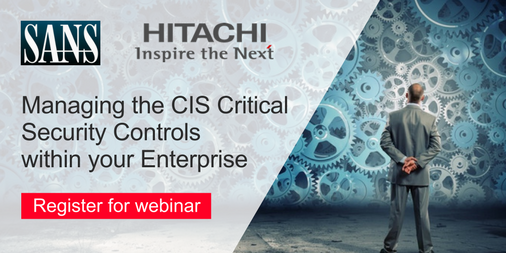 Managing the CIS Critical Security Controls within Your Enterprise