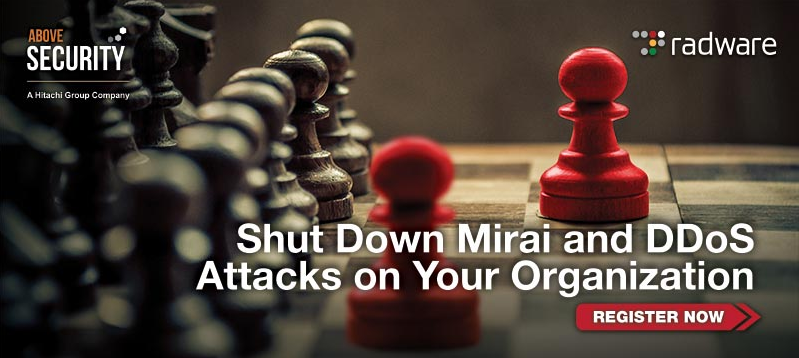 Webinar Shut Down Mirai and DDoS Attacks on Your Organization
