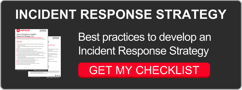 Incident Response Strategy Checklist
