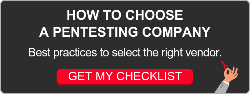 Download checklist How to Choose a Pentesting Company