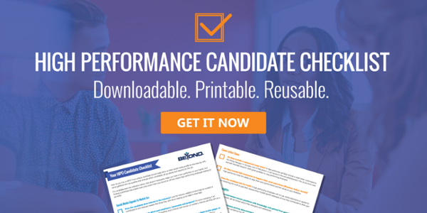 high performance candidate